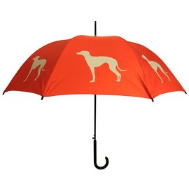 San Francisco Umbrella Greyhound - Red/Tan