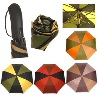 Vista Golf Size Auto Folding Umbrella Asst Colors