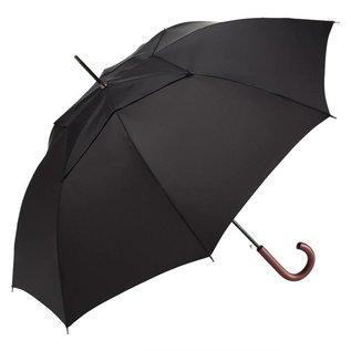 WindPro Vented Mens Stick Umbrella - Black