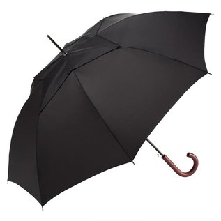 WindPro Vented Mens Stick Umbrella - Black
