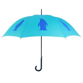 San Francisco Umbrella Penguin - Aqua/Blue
