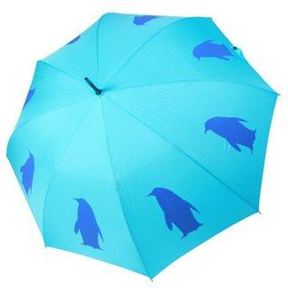 San Francisco Umbrella Penguin - Aqua/Blue