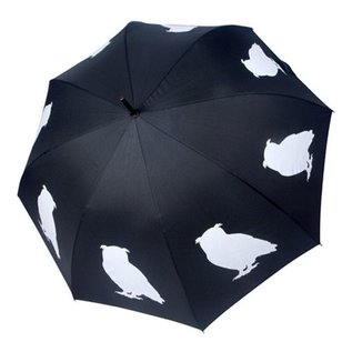 San Francisco Umbrella Animal Umbrella - Owl - Blk/White