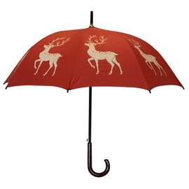 San Francisco Umbrella Reindeer - Red/White