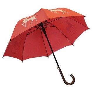 San Francisco Umbrella Animal Umbrella - Reindeer - Red/White
