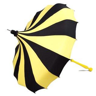 Bella Umbrella Signature Bella Custom Pinwheel Yellow & Black