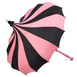 Bella Umbrella Signature Bella Custom Pinwheel Pink & Black