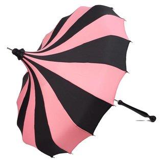 Bella Umbrella Signature Bella Custom Pinwheel Pink & Black