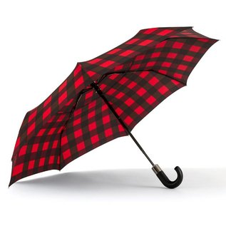Vented Compact – Red/Black Plaid