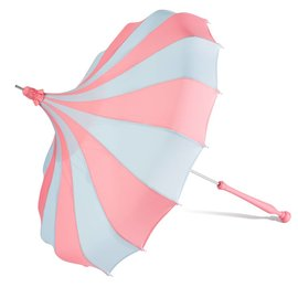 Bella Umbrella Signature Bella Custom Pinwheel Blue & Pink