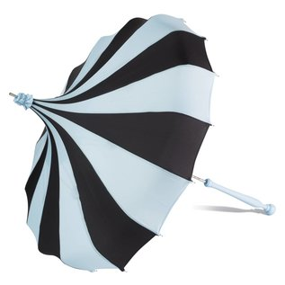 Bella Umbrella Signature Bella Custom Pinwheel Blue & Black