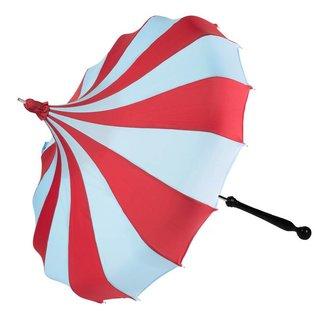 Bella Umbrella Signature Bella Custom Pinwheel Blue & Red