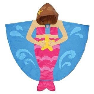 Stephen Joseph Mermaid Rain Poncho