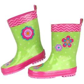 Stephen Joseph Flower Rain Boots
