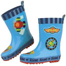 Stephen Joseph Airplane Rain Boots