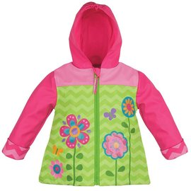Stephen Joseph Flower Rain Coat