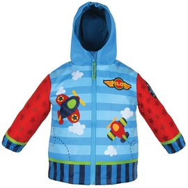 Stephen Joseph Airplane Rain Coat