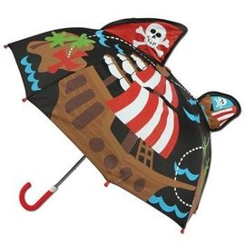 Stephen Joseph Pirate 3D Umbrella