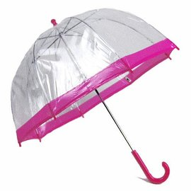 Vista Bubble Umbrella for Kids - Pink