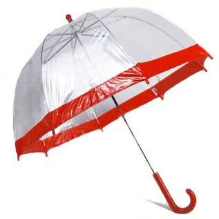 Vista Bubble Umbrella for Kids - Red