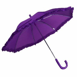 Vista Ruffled Umbrella for Kids Purple