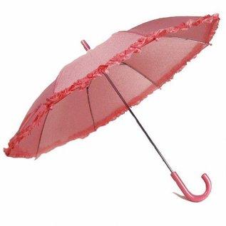 Vista Ruffled Umbrella for Kids - Pink