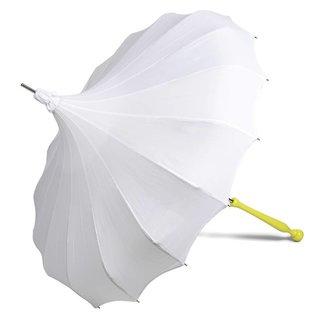 Bella Umbrella Signature Bella Umbrella Pagoda White