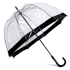 Vista Bubble Umbrellas Black
