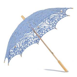 Goldenstate Lace Parasol Cornflower Blue