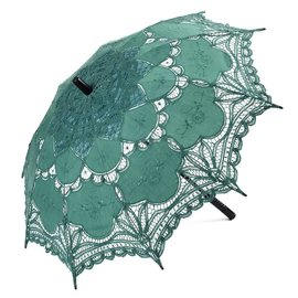 Goldenstate Lace Parasol Dark Green