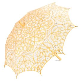 Goldenstate Lace Parasol Gold