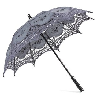 Goldenstate Lace Parasol Gray