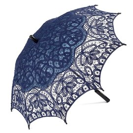Goldenstate Lace Parasol Navy