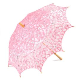 Goldenstate Lace Parasol Pink