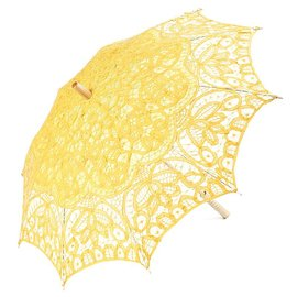 Goldenstate Lace Parasol Yellow