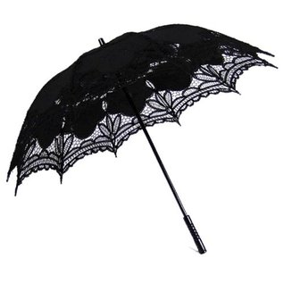 Goldenstate Lace Parasol Black