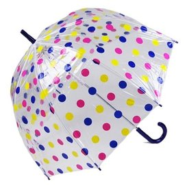 Vista Pastel Polka Dot Bubble Umbrellas Multi-colored
