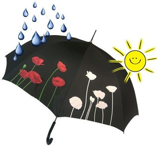 Naysmith Poppy Color Changing Umbrella