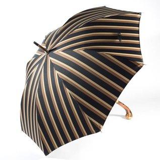 Pasotti Italian Men's Brown Pinstripe