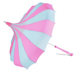 Bella Umbrella Signature Bella Custom Pinwheel - Blue & Magenta