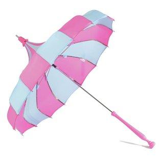 Bella Umbrella Signature Bella Custom Pinwheel - Blue & Magenta