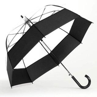 Bubble Umbrella Auto Open Black