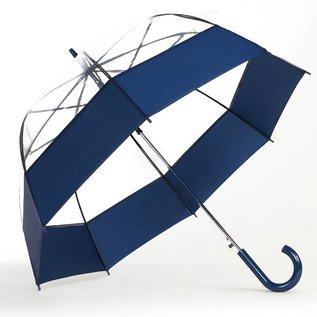 Bubble Umbrella Auto Open Blue