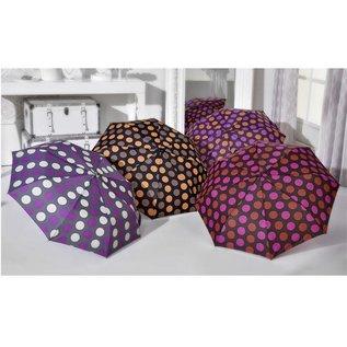 Gift Craft Polka Dot Peach/Purple