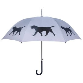 San Francisco Umbrella Labrador Retriever Grey/Black