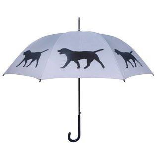 San Francisco Umbrella Labrador Retriever Grey/Black