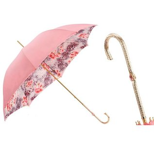 Pasotti Italian Double Layered Pink Floral