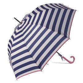 Gift Craft Striped Blue Umbrella