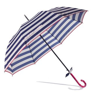 Gift Craft Striped Blue Umbrella