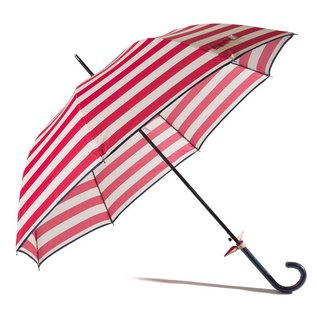 Gift Craft Striped Red Umbrella